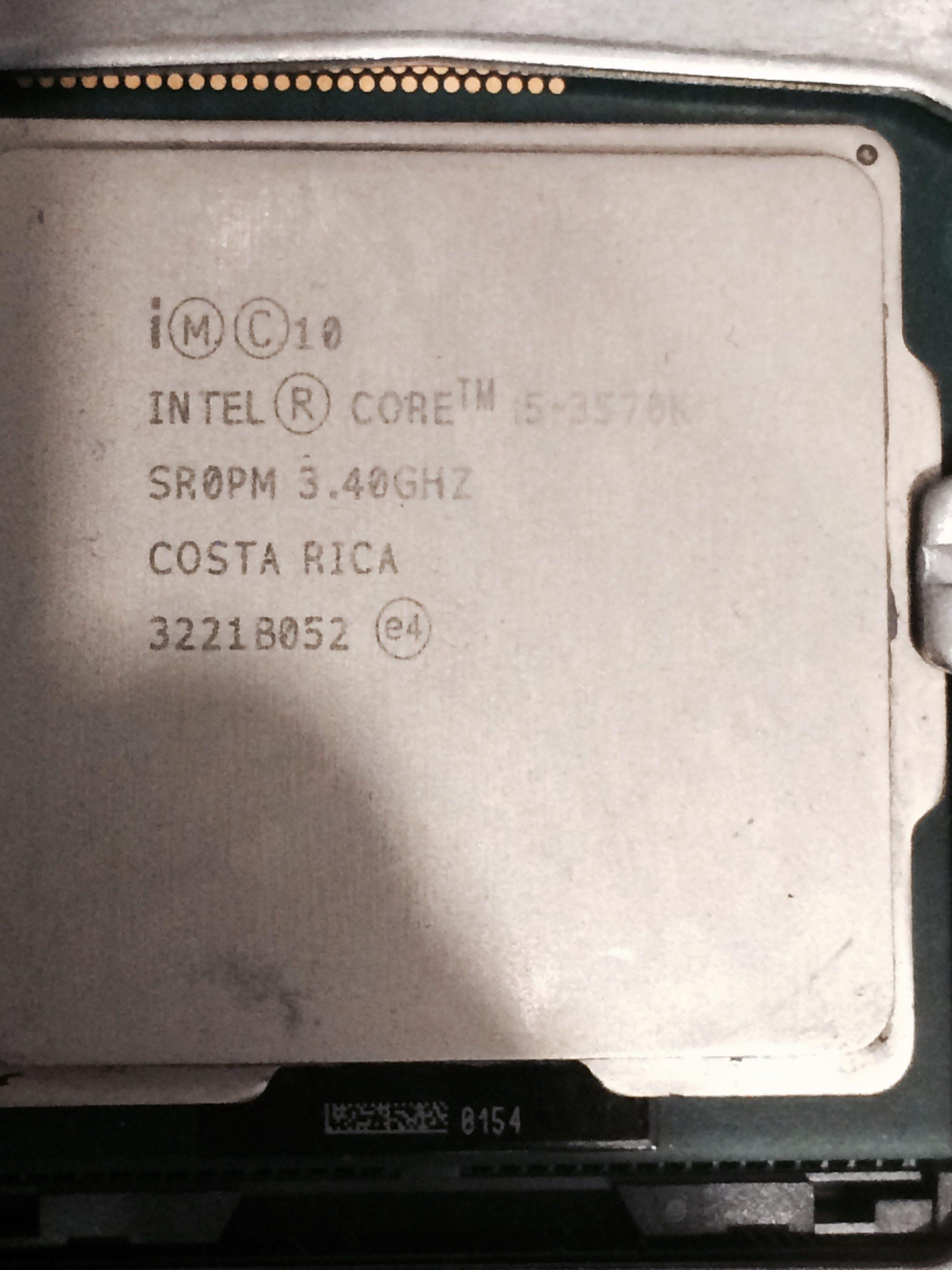 Photo of Intel Core i5 3570k LGA 1155 Socket