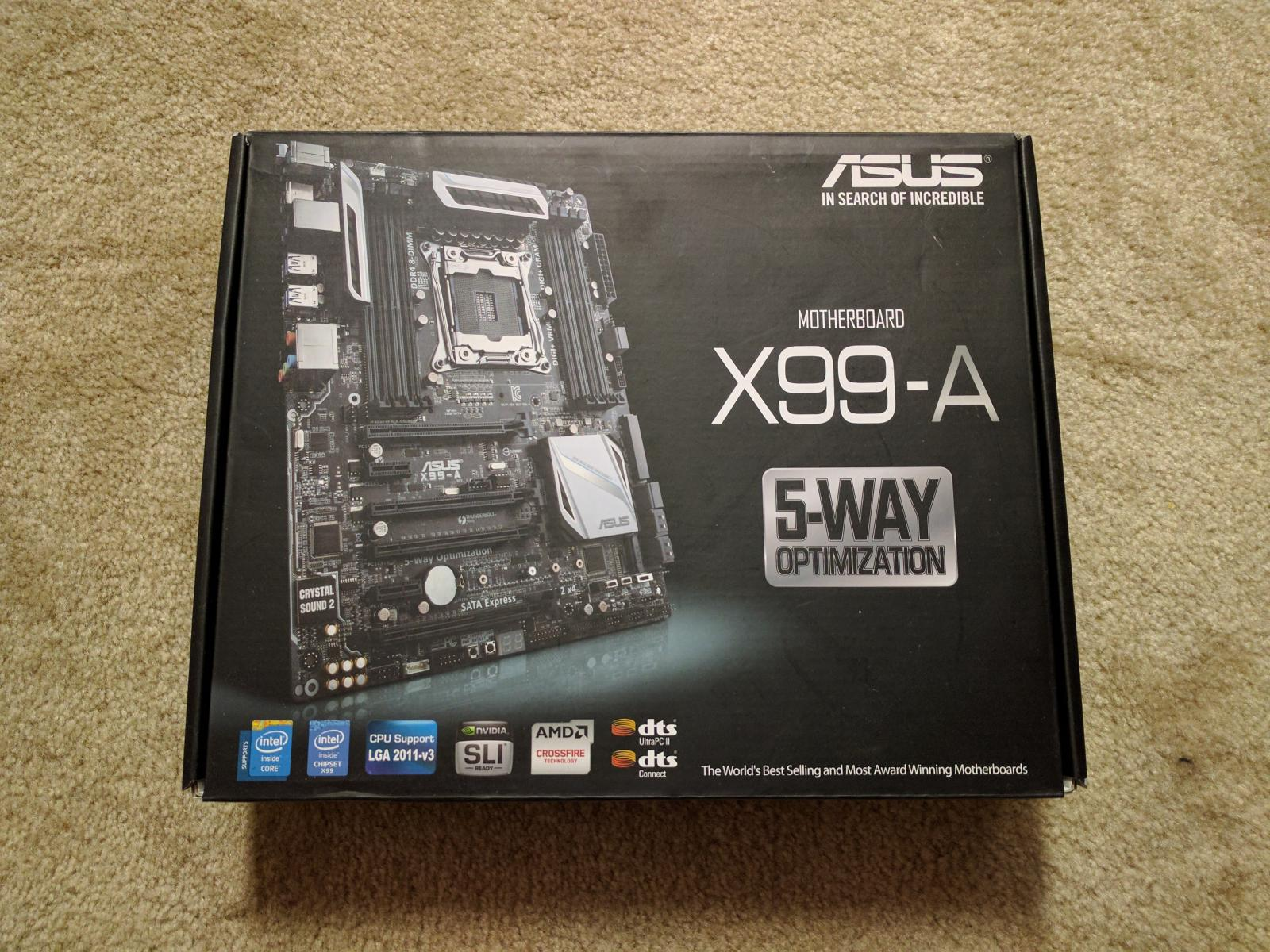 Photo of ASUS X99-A - X99, LGA2011-3, ATX