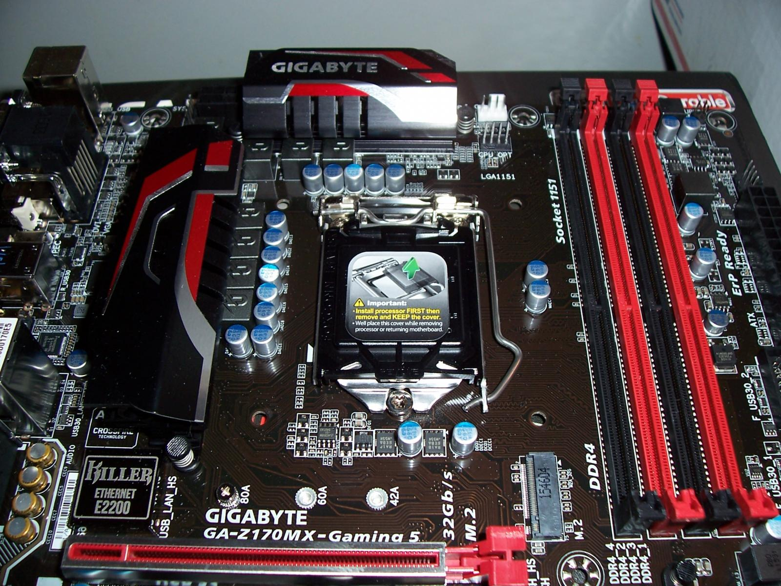 Photo of Gigabyte GA-Z170MX Gaming 5 mATX Z170 socket 1151