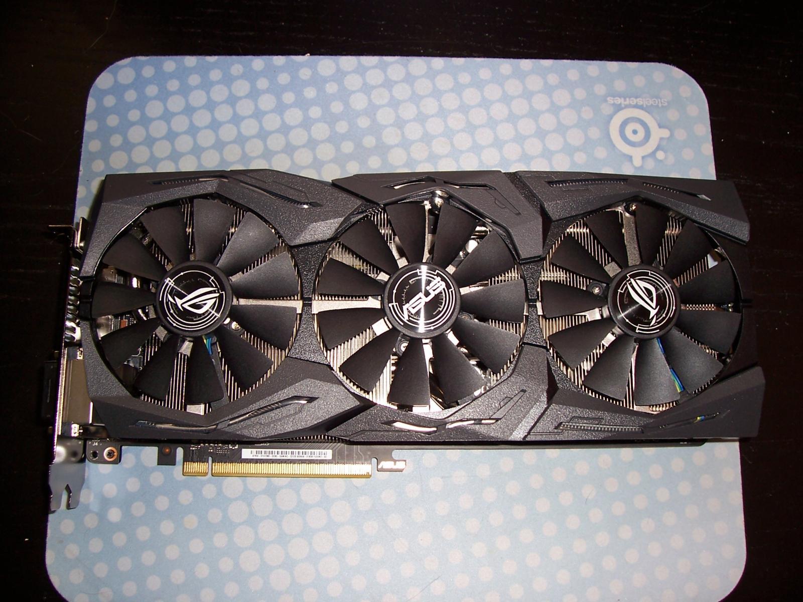 Photo of Asus ROG Strix GeForce GTX 1080 STRIX-GTX1080-A8G-GAMING