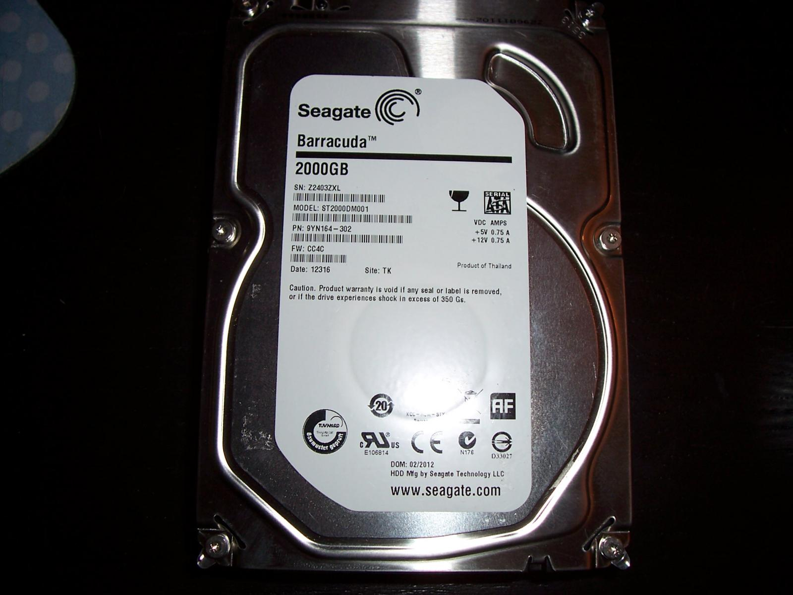 Photo of Seagate Barracuda 2TB 3.5 (multiple available)