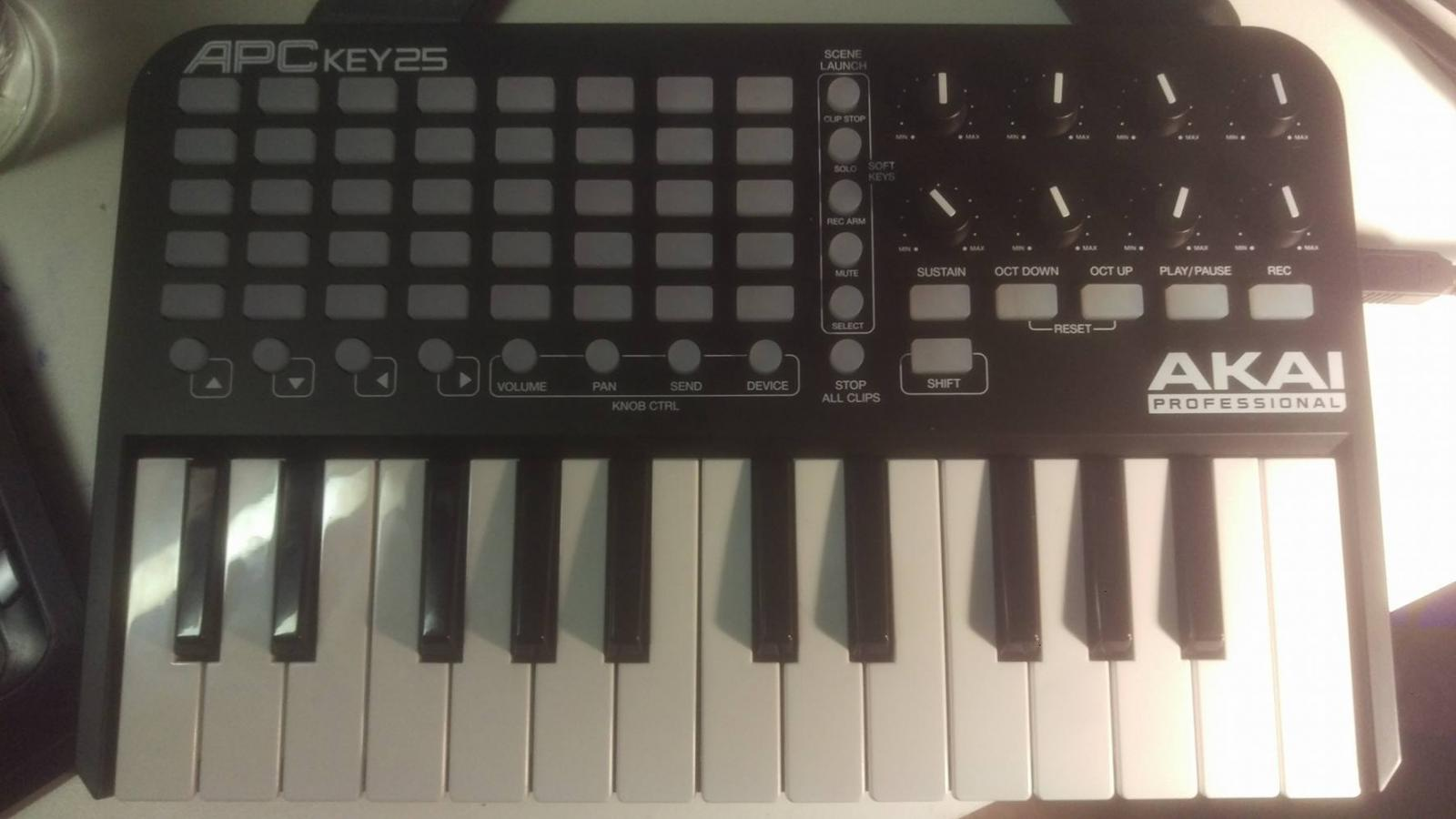 Photo of Akai APC pro 25 key