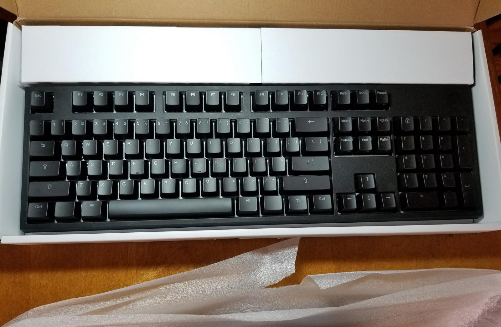 Photo of CODE mechanic keyboard used 1wk