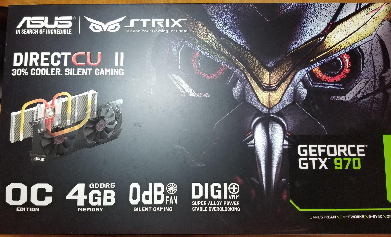 Photo of ASUS STRIX Geforce GTX 970 Overclocked 4GB DDR5