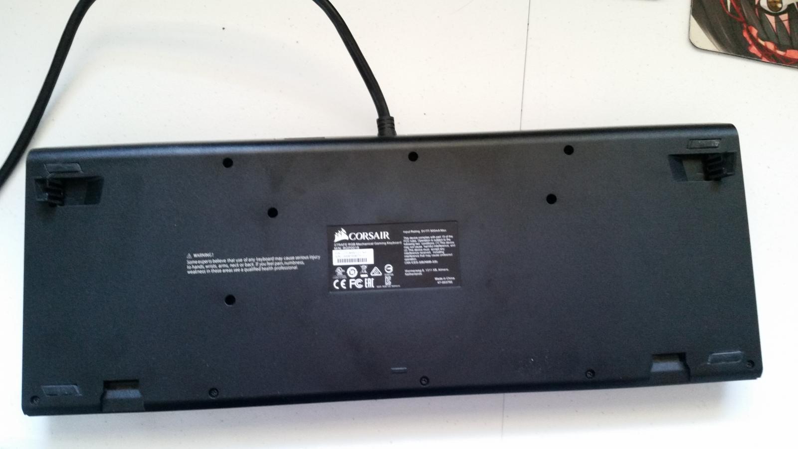 Photo of Corsair RGB Strafe [Like New]