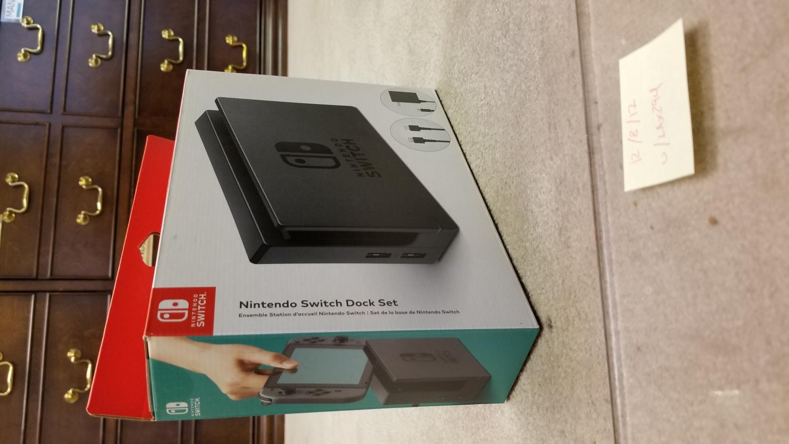 Photo of Nintendo Switch Dock Set (BNIB, sealed)
