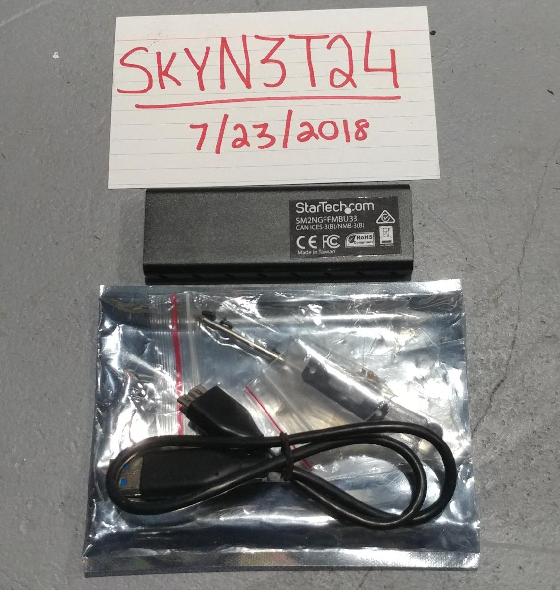 Photo of StarTech M.2 NGFF SATA SSD Portable USB 3.0 Aluminum Enclosure