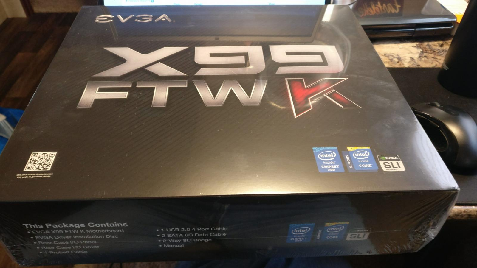 Photo of EVGA x99 FTW K Motherboard NIB
