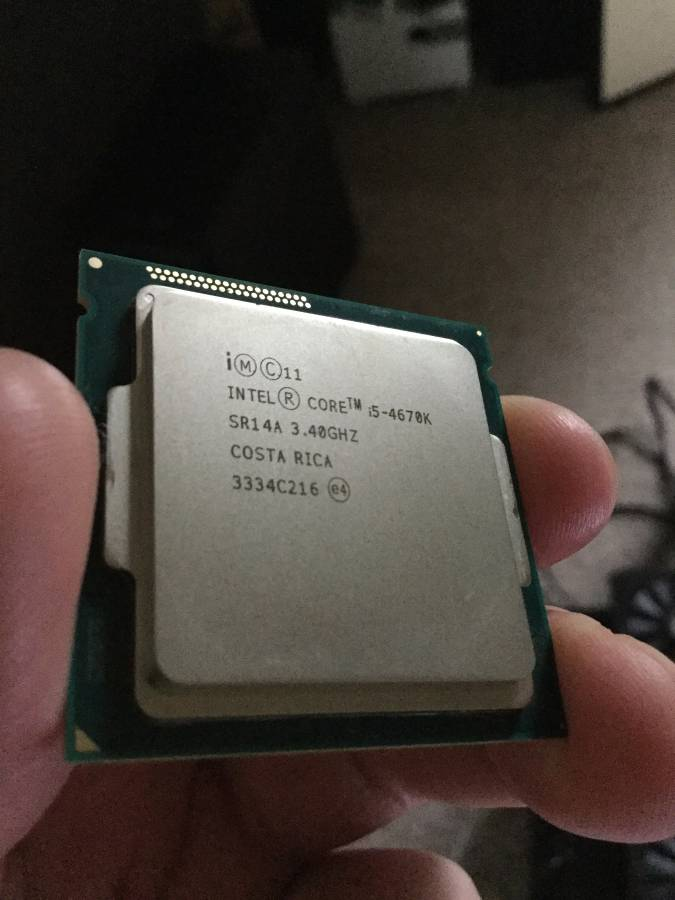 Photo of Intel i5-4670k