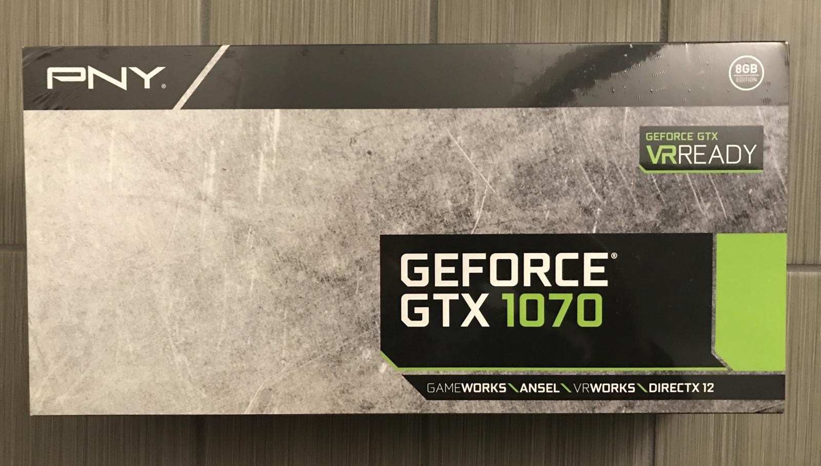 Photo of NVidia GTX 1070