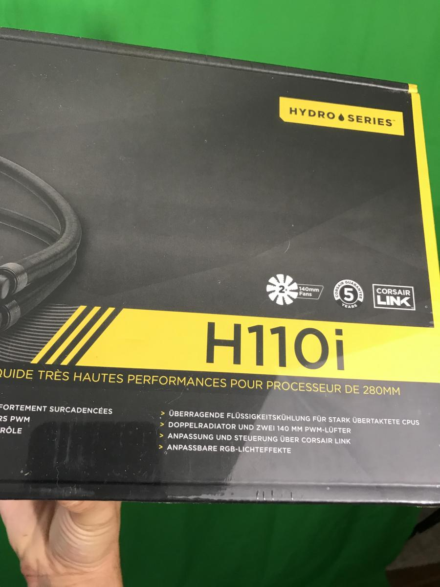 Photo of Sold Corsair H110i