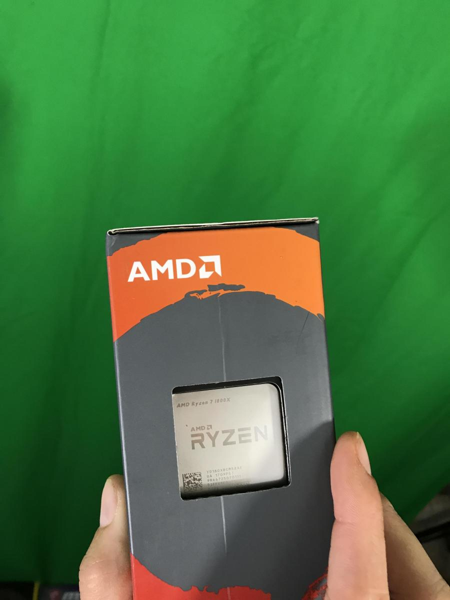 Photo of Ryzen 7 1800x Unopened