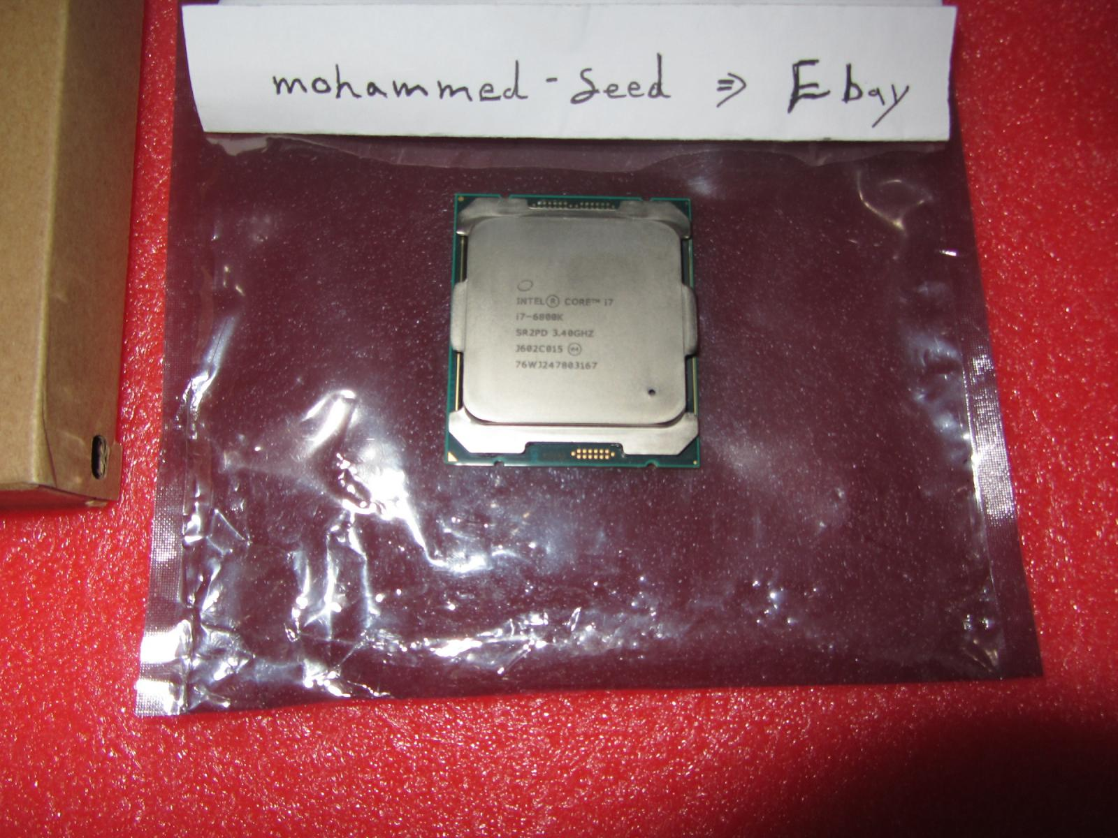 Photo of {Combos} I7 6800K + ASUS X99-PRO  {NEW}