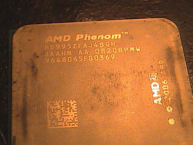 Photo of AMD Phenom X4 9950 Black Edition