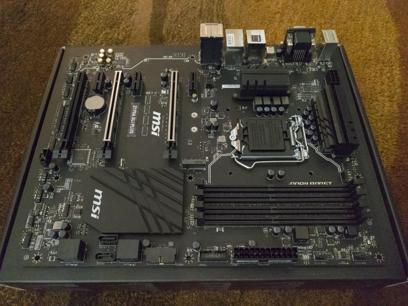 Photo of MSI Z170A SLI Plus - Z170, LGA1151, ATX