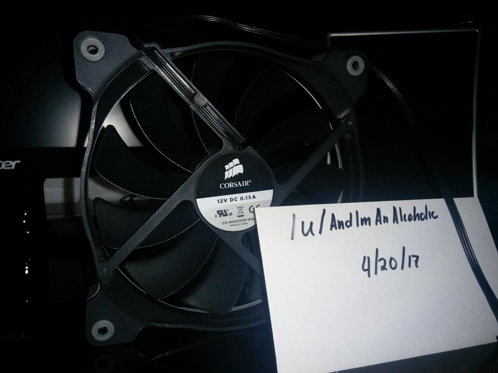 Photo of Corsair Air Series AF140 Quiet Edition Single Fan (non LED, white ring)