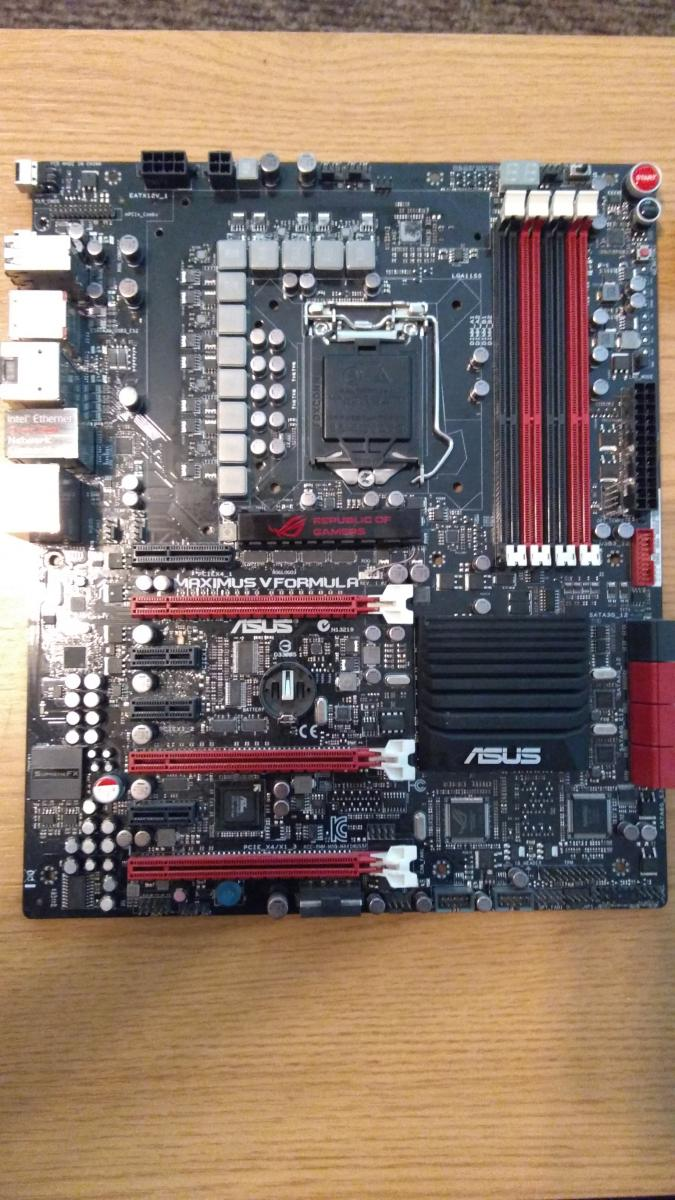 Photo of ASUS Maximus V FORMULA LGA 1155 FOR PARTS AS IS