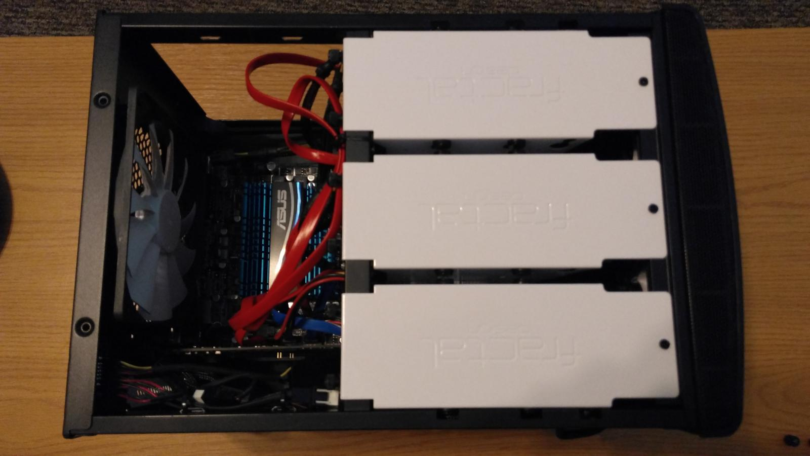Photo of 12TB NAS with SSD