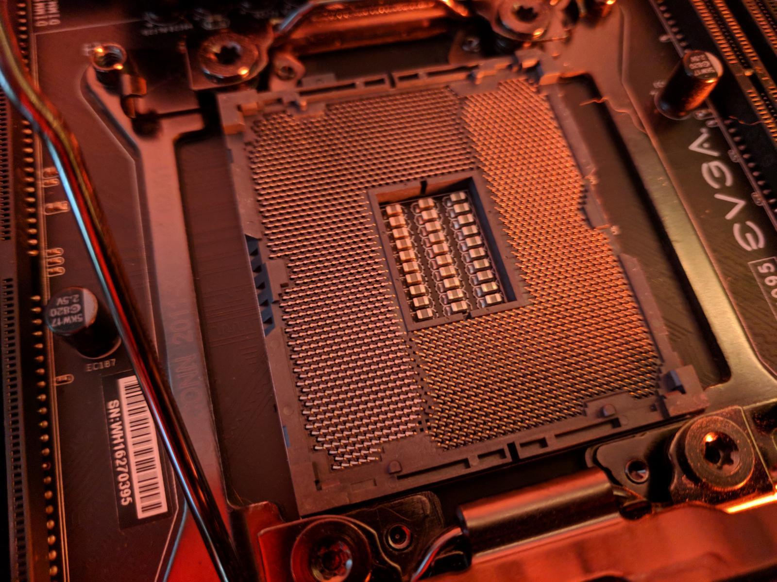 Photo of Intel i7 5930k w/ EVGA Micro2