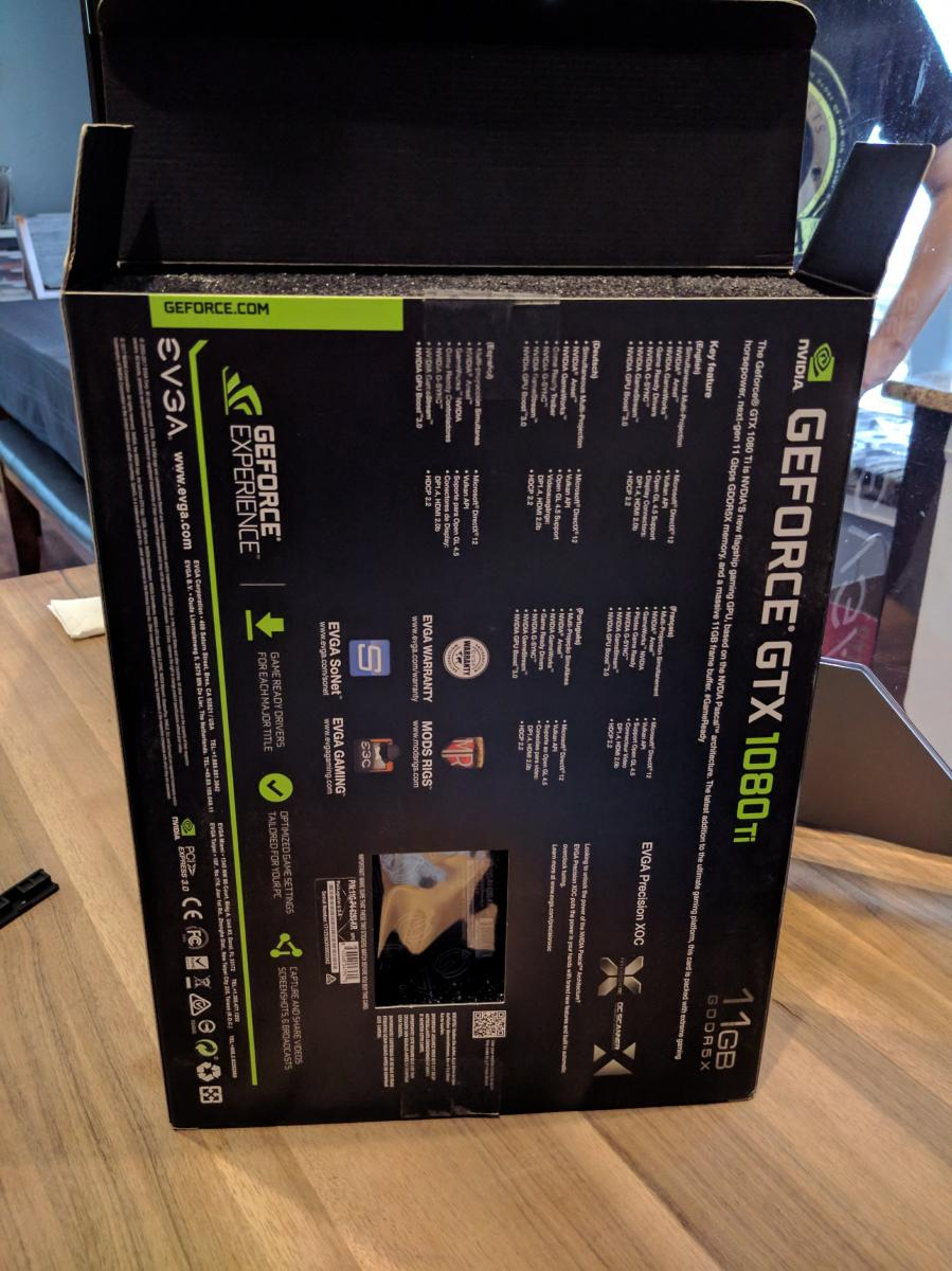 Photo of EVGA GeForce GTX 1080 Ti SC GAMING