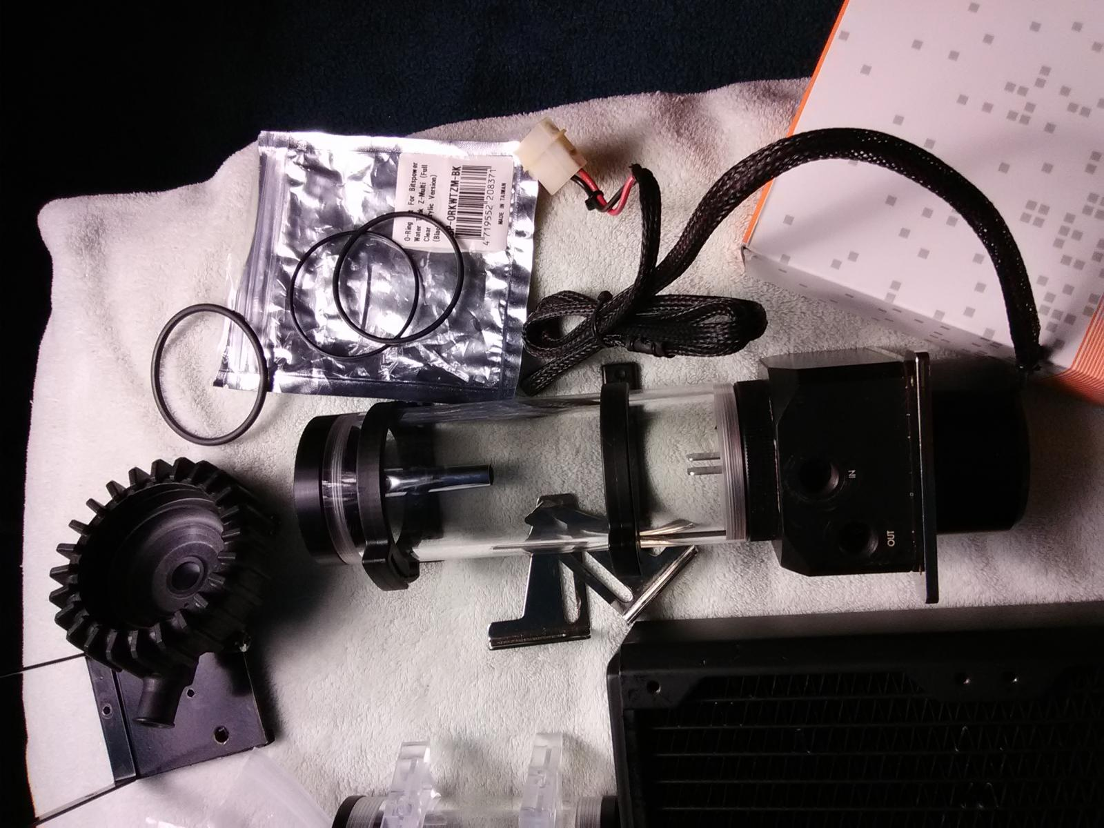 Photo of Water Cooling Parts
