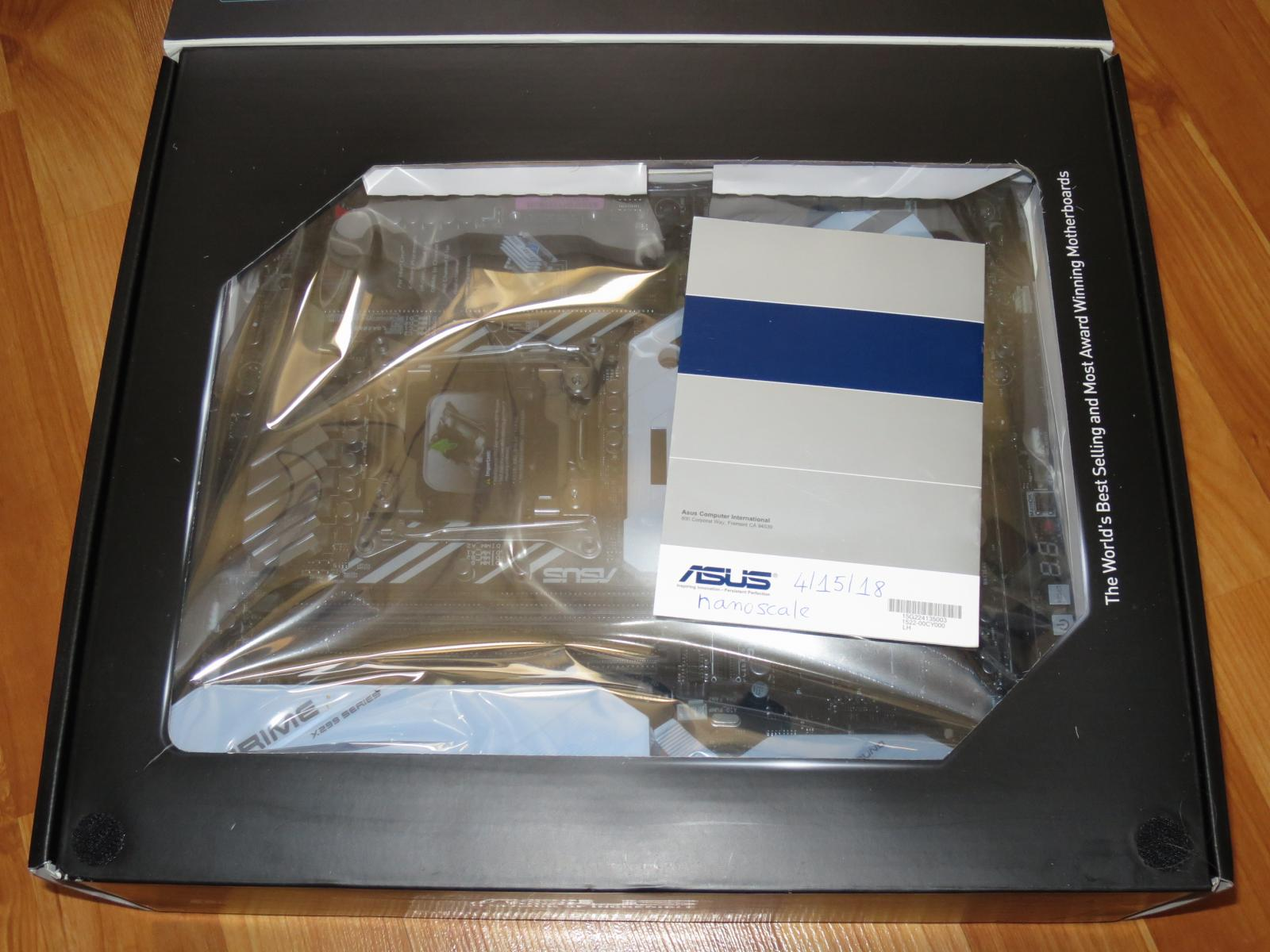 Photo of New Asus X299 Deluxe Prime