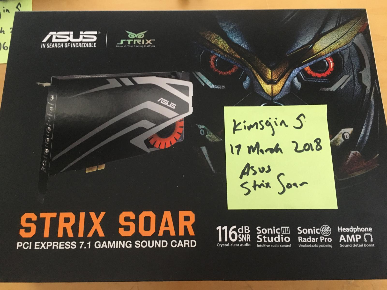 Photo of Asus STRIX SOAR Sound Card