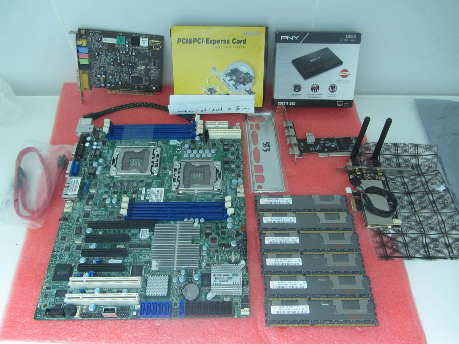 Photo of {Combos} Xeon X5670 + X8DTL-3F LGA 1366 + and more