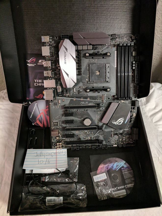 Photo of Strix B350-F AM4 motherboard