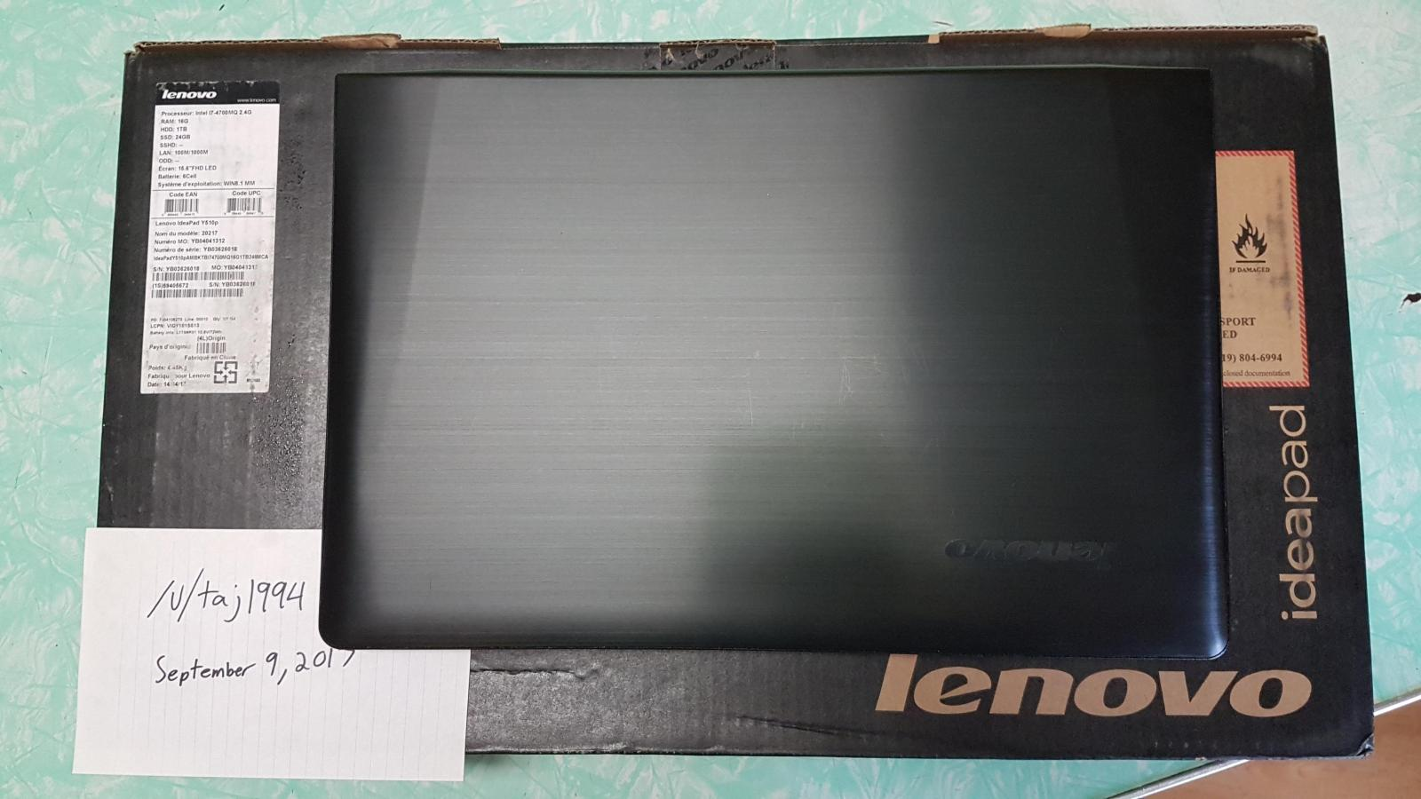 Photo of Lenovo IdeaPad Y510p Gaming Laptop