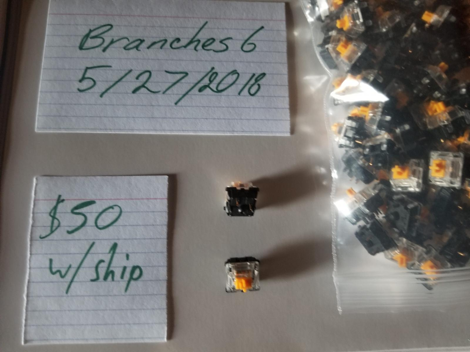 Photo of MOD Switches - Mod-H (Linear) - 70 Pieces - 62g