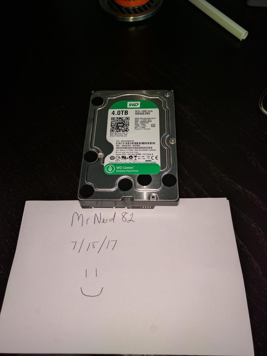 Photo of Western Digital 4TB Green