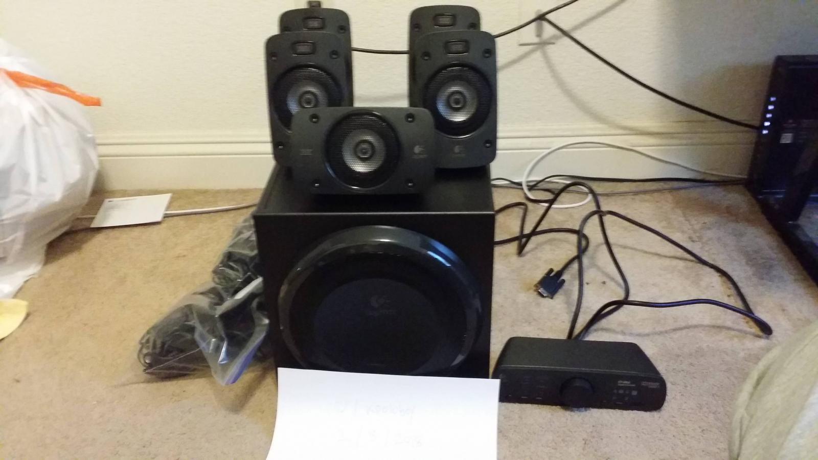 Photo of Logitech Z906 5.1 THX Surround Speakers