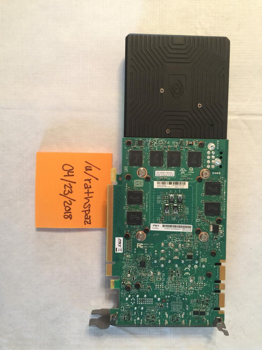 Photo of Nvidia Quadro M5000 8gb (damaged bracket)