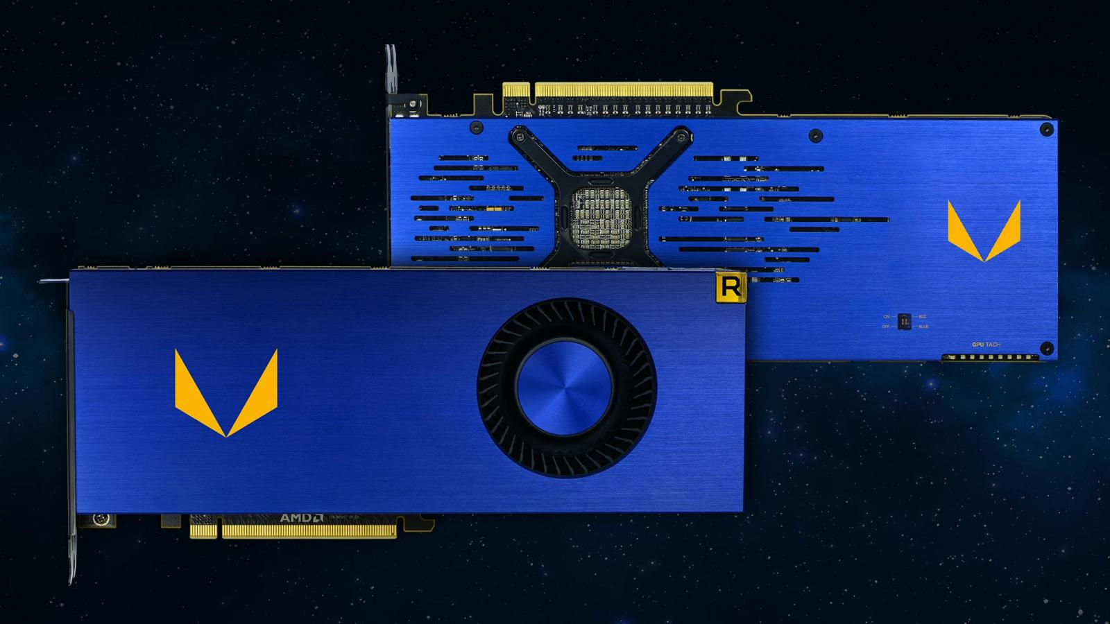 Photo of AMD Radeon Vega Frontier Edition 100-506061 16GB Graphics Card - Brand New