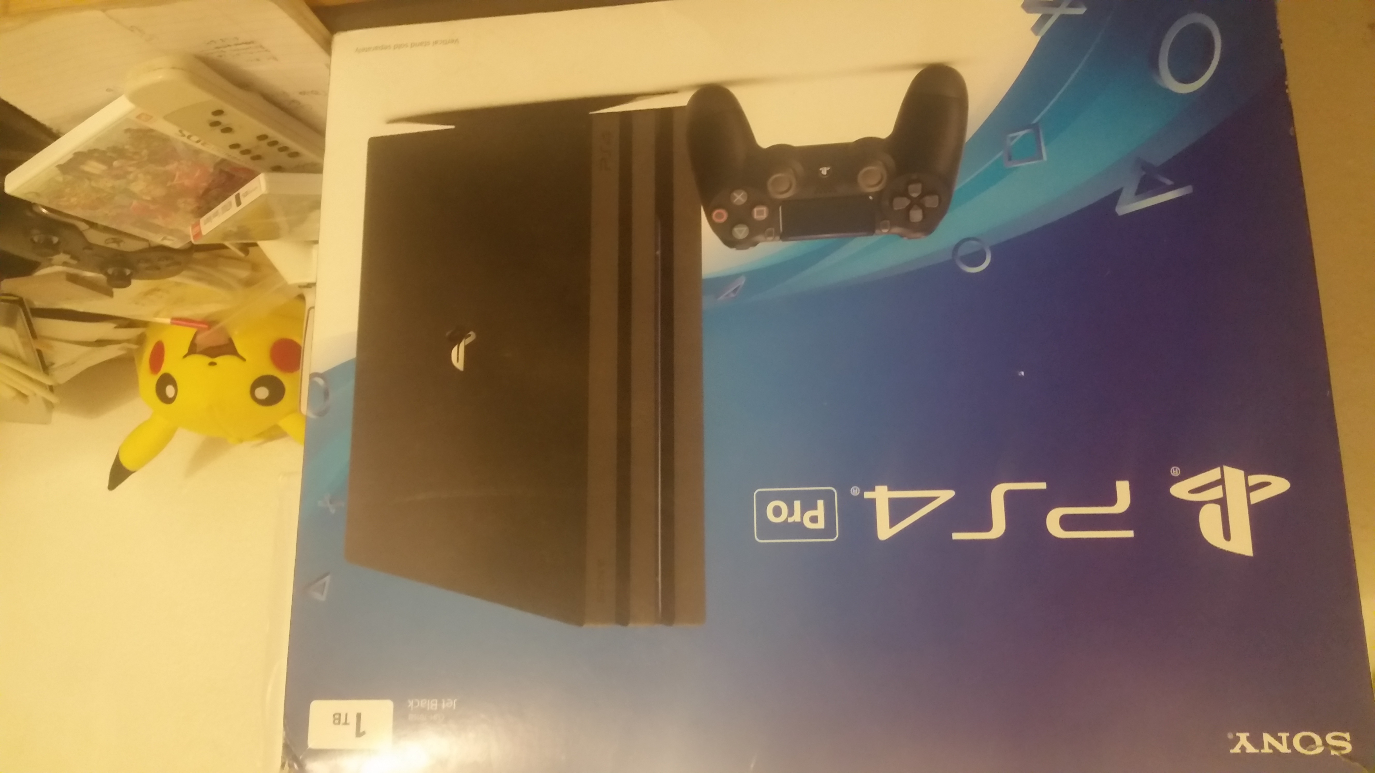 PLAYSTATION 4 PRO (1TB) - used in great condition - complete
