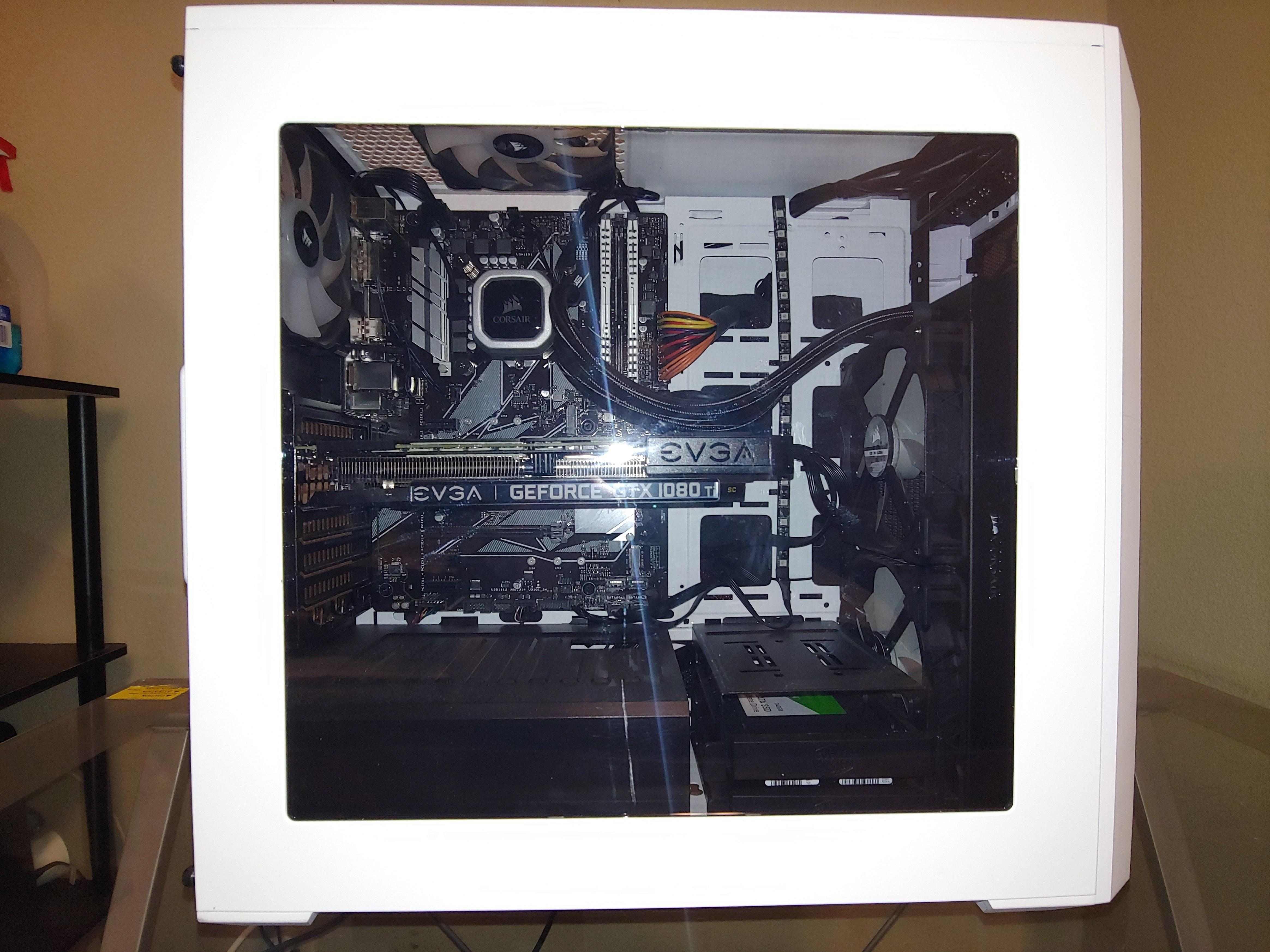 Custom Gaming PC (i7-8700k+1080ti 11gb) For Sale | HeatWare com
