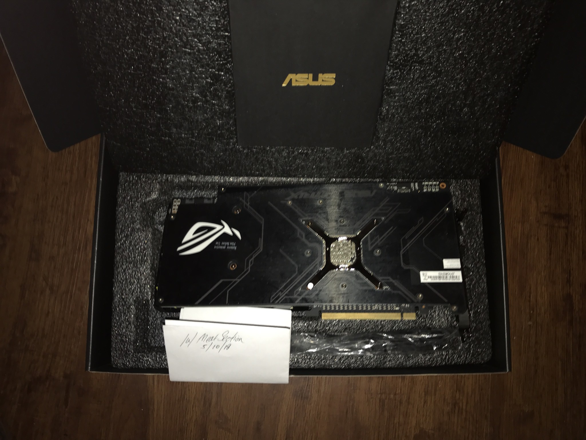 USA-TX] ASUS Radeon RX Vega 64 8GB Overclocked 2048-Bit For Sale