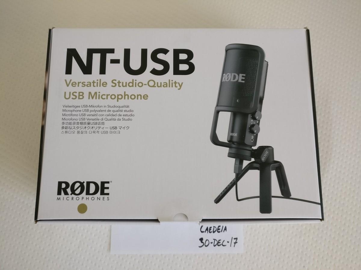 rode nt usb desktop microphone for sale. Black Bedroom Furniture Sets. Home Design Ideas