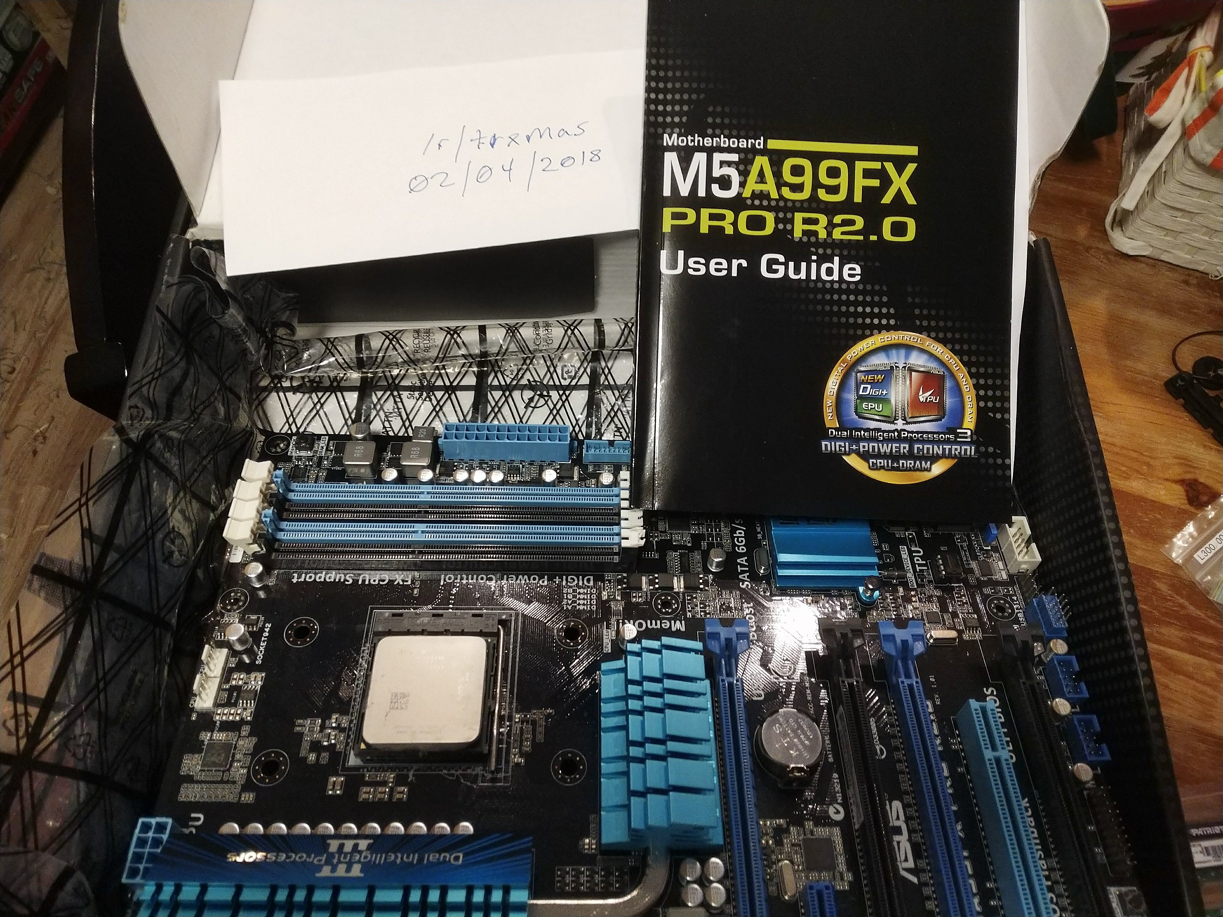 AMD FX-8320, 16GB Viper 3 DDR-2133, M5A99FX PRO R2 0 For