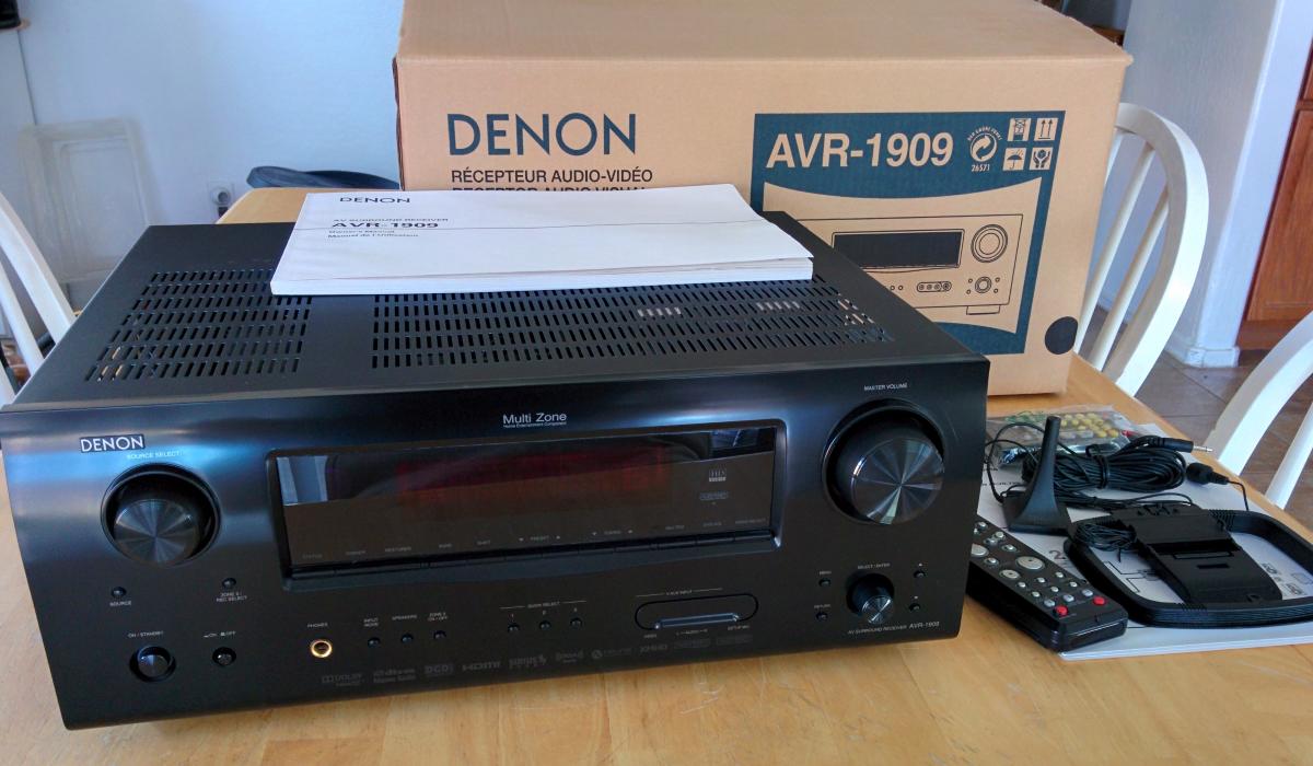 denon avr 1909 7 1 av receiver for sale heatware com rh heatware com denon 1909 service manual denon 1909 service manual