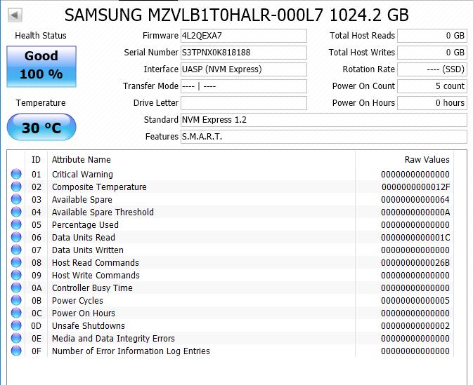 Samsung PM981 1 TB M 2 PCIe NVME SSD For Sale | HeatWare com