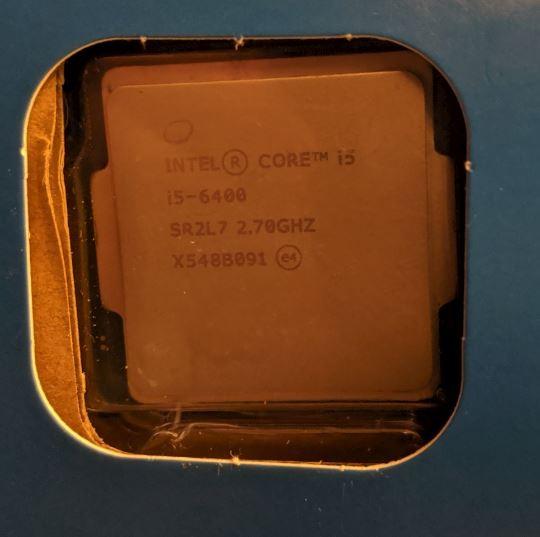 Photo of Intel CPU Core i5-6400 2.70GHz LGA1151 SR2L7