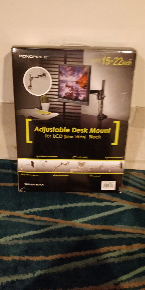Photo of Monoprice Adjustable Desk Mount