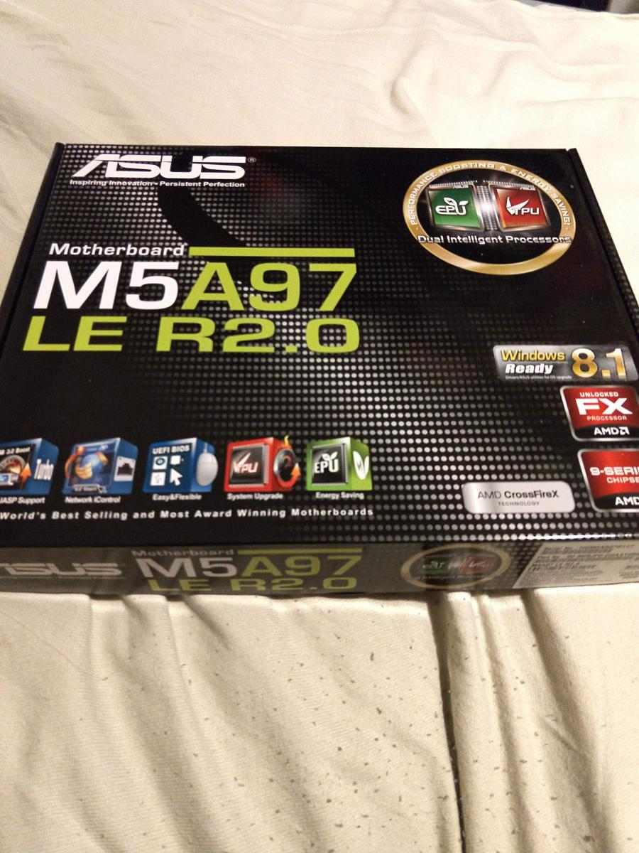 Photo of Asus M5A97 LE R2.0  mother board