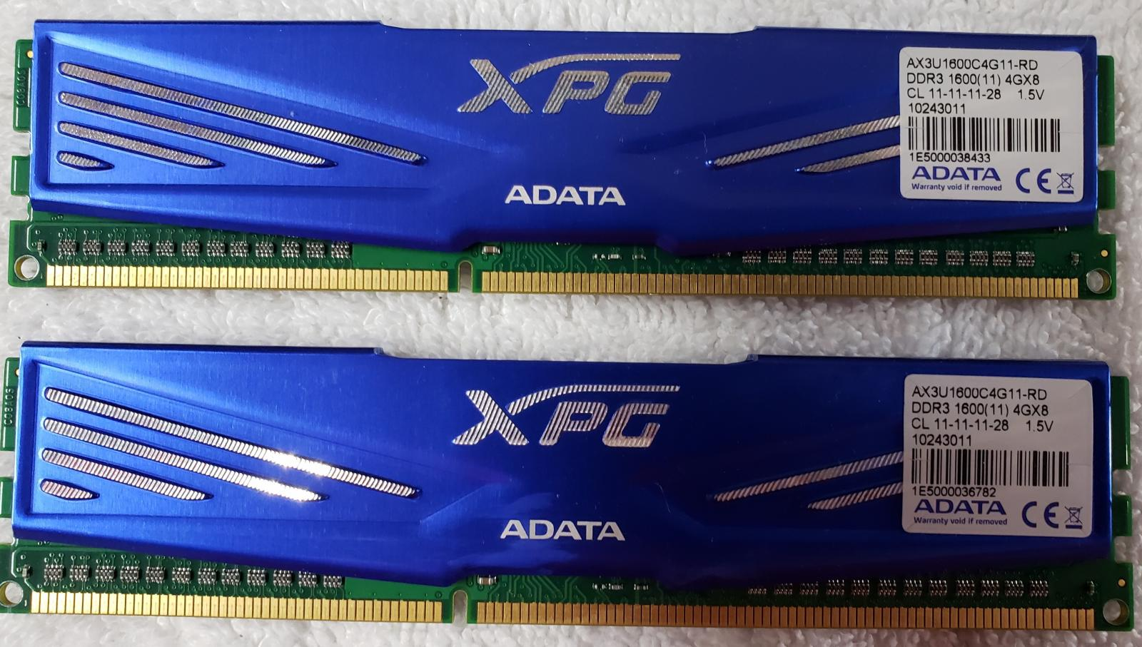 Photo of DDR-1600 Performance RAM