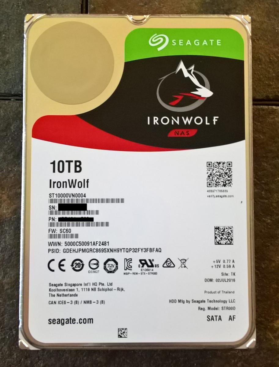 Photo of Seagate IronWolf 10TB 7200rpm 3.5