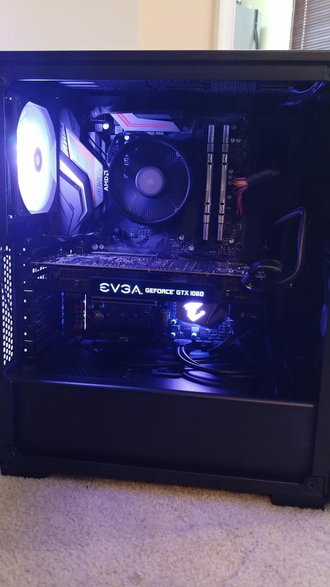 Photo of Ryzen 5 1600 + GTX 1060 Gaming PC