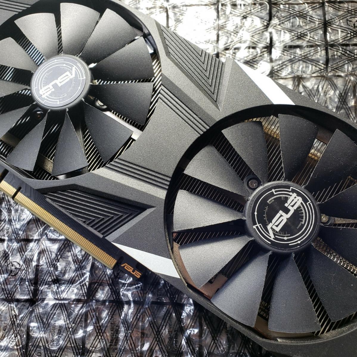 Photo of RTX 2080TI asus Dual (broken hdmi)