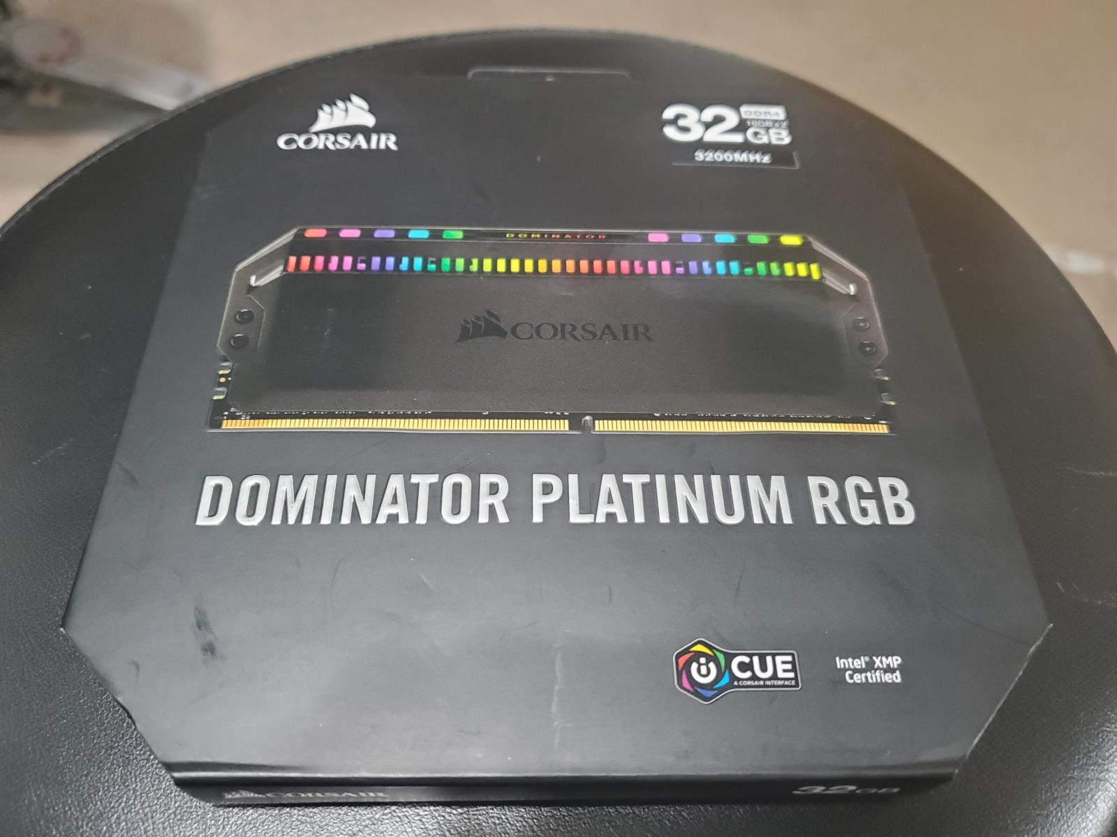 Photo of CORSAIR - Dominator Platinum RGB 32GB (2PK 16GB) 3.2GHz PC4-25600